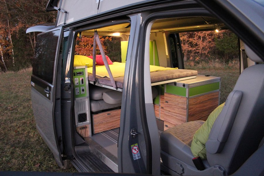 neuer vw bus ausbau von terracamper vw. Black Bedroom Furniture Sets. Home Design Ideas