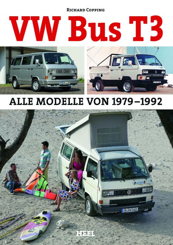 buchtipp vw bus t3 alle modelle 1979 1992 vw. Black Bedroom Furniture Sets. Home Design Ideas